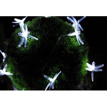 Zahradní solární dekorativní LED osvětlení - Vážky 24 LED diod D00223