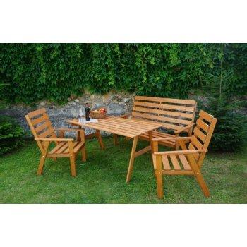 Zahradní dřevěná souprava SYLVA R30162