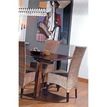 LASIO židle - vysoké COKLAT / KŮRA HI08621