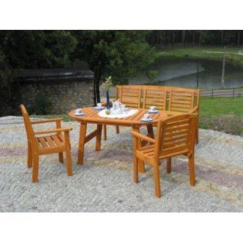 Zahradní dřevěný stůl EDEN FSC R02708