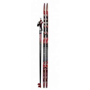 LSRH160 Běžecký set - lyže 160cm + vázání + hole AC05435