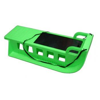 Kamzík - plastové sáně 05-A2043 - zelený AC29894