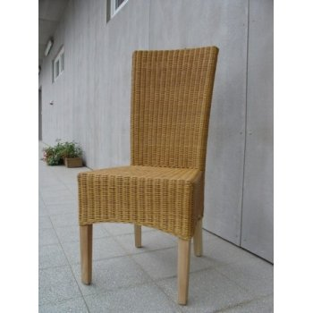 LASIO židle - SVĚTLÝ MED / RATAN HI08614