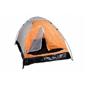 Stan pro 2 osoby - oranžovo/černý D06149