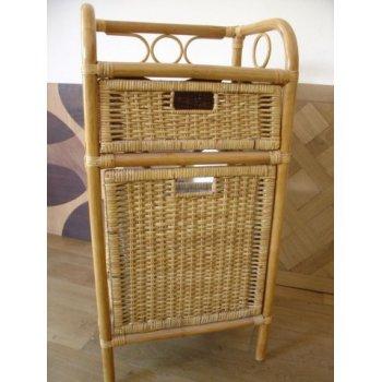 Ratanový kabinet, prádelník - tmavý med HI08538