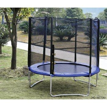 Zahradní trampolína s ochrannou sítí - 244 cm AC04518