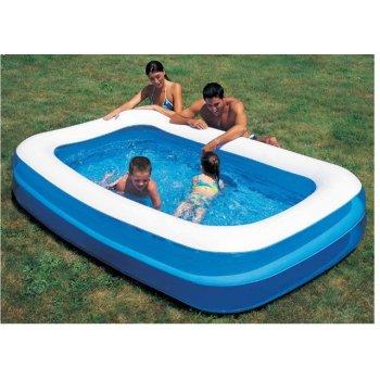 Rodinný dvoukomorový bazén nafukovací AC05607