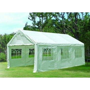 Zahradní stan - bílý, 4 x 6 m