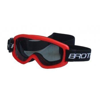 Lyžařské brýle DĚTSKÉ - červené AC27766