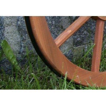 Ghana Garth Dřevěné kolo 35 cm - stylová rustikální dekorace