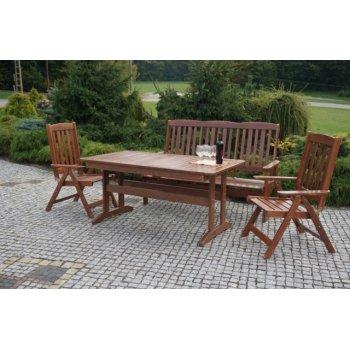 Zahradní dřevěné křeslo ANETA R30155