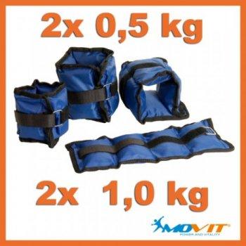 Movit - Sada závaží na kotníky a zápěstí M01249