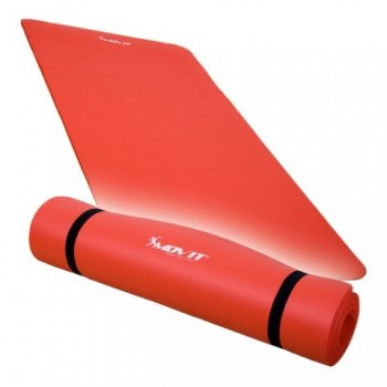Podložka na jógu 190 x 60 x 1,5 cm, červená M02307