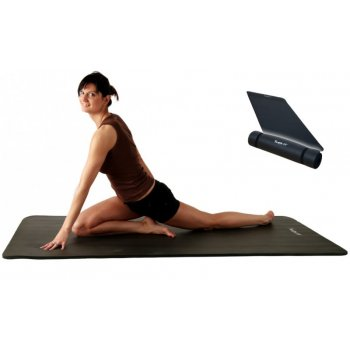 Podložka na jógu MOVIT® 190 x100 x1,5 cm - černá M01975