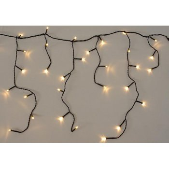 diLED světelný déšť - 80 LED teple bílá D02176