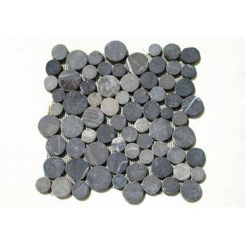 Mozaika Garth z andezitu - šedá obklady 1 m2 D01128