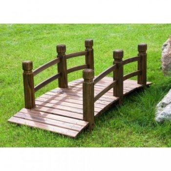 Dřevěný most 150 x 67 x 55 cm