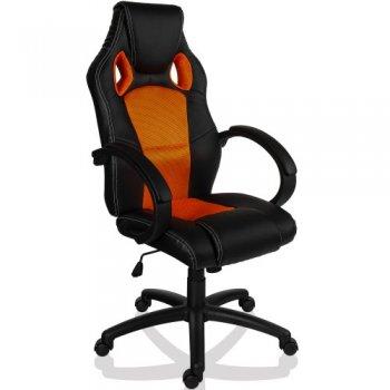 Otočná kancelářská židle MX Racer ORANŽOVÁ M09503