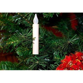LED svíčky na vánoční strom - bezdrátové D00881