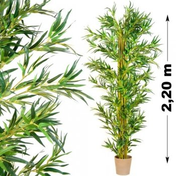 Umělá květina strom - bambus - 220 cm M01436
