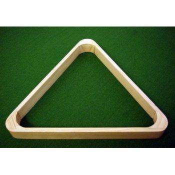 Trojúhelník dřevěný světlý 57,2 mm D00068
