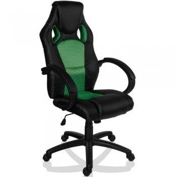 Otočná kancelářská židle ZELENÁ MX Racer M09498
