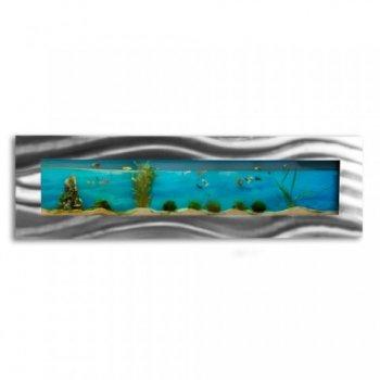 Nástěnné akvárium - akvárko 152,5 x 44,5 x 11 cm M01444