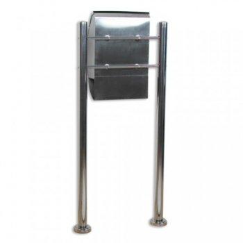 Poštovní schránka nerez 126 cm M01259