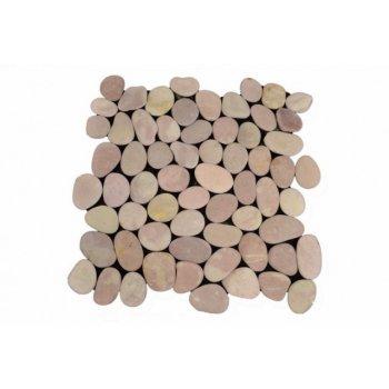 Mozaika Garth říční oblázky - béžová obklady 1 ks