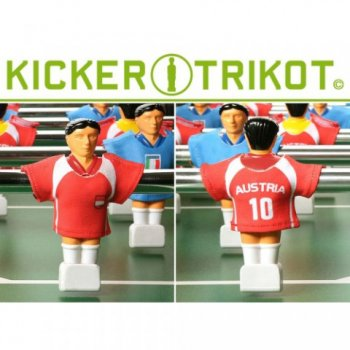 náhradní fotbalové dresy Rakouska 11 ks M01476