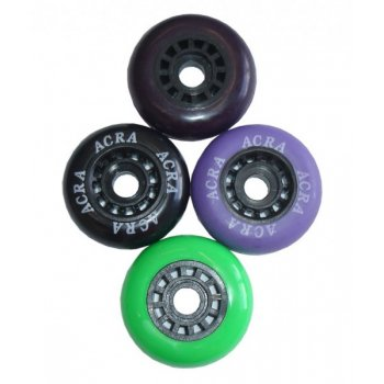 Náhradní kolečka k bruslím 70 x 24 mm AC27482