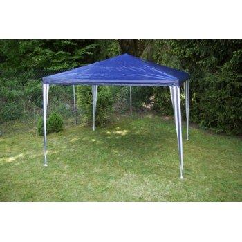 Zahradní párty stan - modrý 3 x 3 m D00384