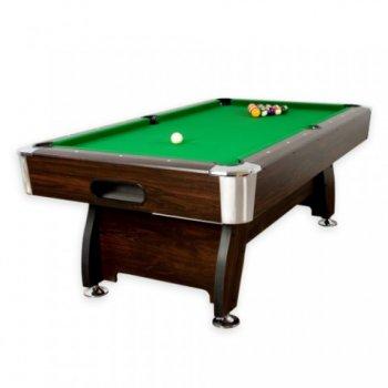 Kulečníkový stůl pool billiard kulečník 8 ft - s vybavením M01349