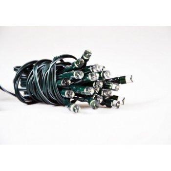 Zahradní světelný řetěz Garth - 24x LED dioda studeně bílá D01508