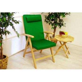 Polstrování na židli Garth - zahradní zeleně D00324