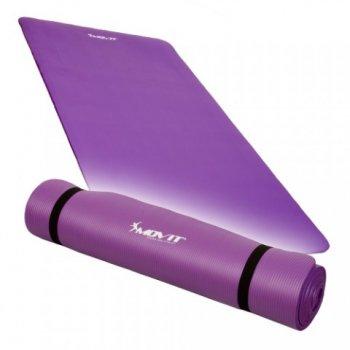 Podložka na jógu 190 x 60 x 1,5 cm, fialová M02308
