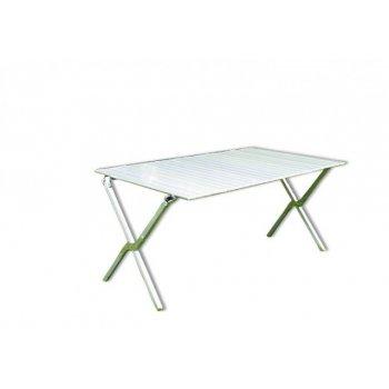 Zahradní hliníkový skládací stůl 140 x 72 cm D30973