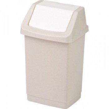 Koš odpadkový CLICK 9l - savanna CURVER R31402
