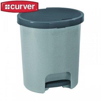 Koš odpadkový pedálový PEDALBIN 25l - šedý CURVER R31492