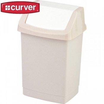 Koš odpadkový CLICK 25l - savanna CURVER R31418