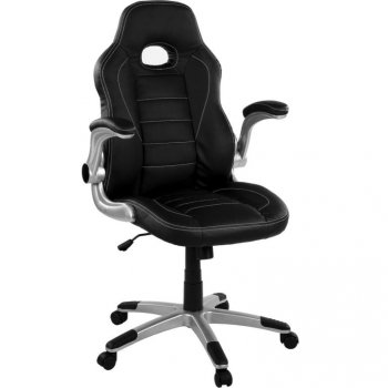 Kancelářská židle GT-Racer černá / černá M38739