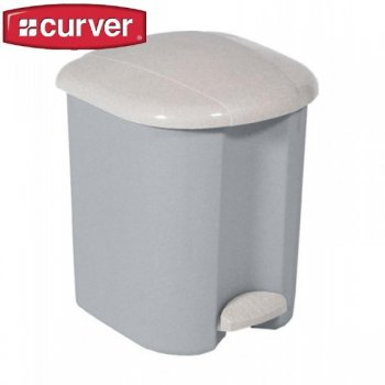 Odpadkový koš pedálový PEDALBIN 15l - luna CURVER R31481