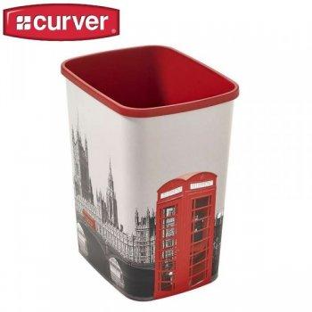 Odpadkový koš Flipbin 25l bez víka - LONDÝN CURVER R31344