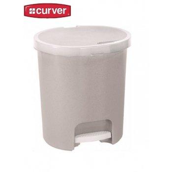 Koš odpadkový pedálový PEDALBIN 25l - savanna CURVER R31493