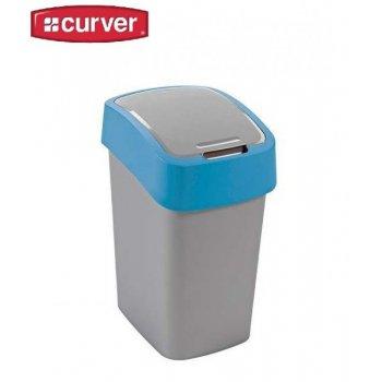 Odpadkový koš FLIPBIN 25l - modrý CURVER R31356