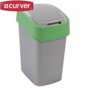 Odpadkový koš FLIPBIN 25l - zelená CURVER R31353