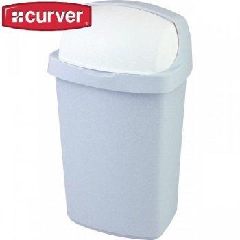 Koš odpadkový ROLL TOP 50 l - luna CURVER R31468