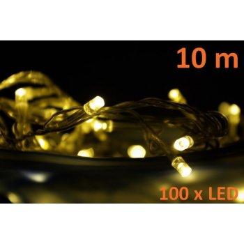Vánoční LED osvětlení Garth 10m - teple bílé, 100 diod D00808