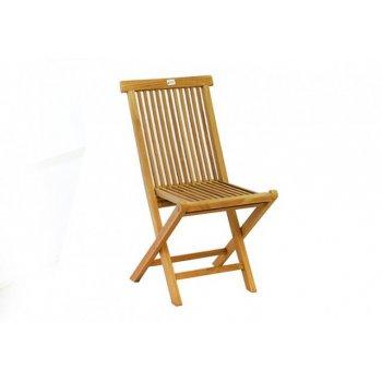 Skládací židle z teakového dřeva D00600