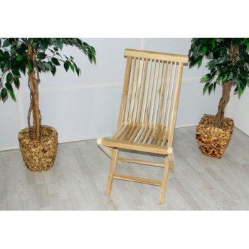 Skládací židle Gardenay z týkového dřeva D00363